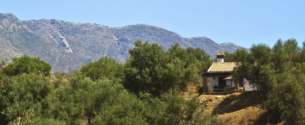 Tucked away in the hills only 40 minutes from Malaga airport